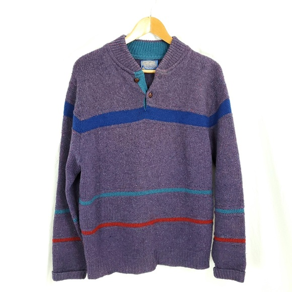 Pendleton Other - Pendelton M Unisex Virgin Wool Sweater Vintage